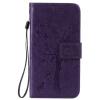 Purple Tree Design PU кожа флип крышку кошелек карты держатель чехол для SAMSUNG G530 purple tree design pu кожа флип крышку кошелек карты держатель чехол для samsung s6