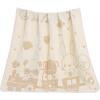 Как ребенок (elepbaby) baby одеяло ребенка хлопка марля одеяло жаккардовые полотенце сумку полотенце полотенца было 115X120CM (маленький партнер) elepbaby детское одеяло детское купальное полотенце 115x120cm