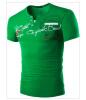 Мужская мода Slim Fit T рубашка графический тройники 6 цвет 4 размер рубашка casa moda цвет терракотовый