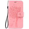 Pink Tree Design PU кожа флип крышку кошелек карты держатель чехол для LENOVO Lemon 3