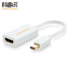 CABLE CREATION Mini DP to HDMI Converter Adapter Mini Displayport 4K HD Apple MacBook Lightning Интерфейс Полученный телевизор Белый CD0009 2 in 1 mini displayport dp thunderbolt to hdmi vga adapter connector cable line wire for apple for macbook air pro surface pro 3