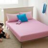 Yalu бесплатное постельное белье домашний текстиль хлопок можно мыть постельное белье двойной двойной матрац покрытие защитная крышка нескользящая кровать кровать типа крышка слоя оттенок розовый 150 * 200 см