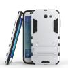 Серебряный Slim Robot Armor Kickstand Ударопрочный жесткий корпус из прочной резины для SAMSUNG Galaxy J7 2017/J727P чехол для iphone 7 sgp slim armor 042cs20842 ультра черный