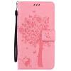 Pink Tree Design PU кожа флип крышку кошелек карты держатель чехол для HUAWEI MATE 7 pink tree design pu кожа флип крышку кошелек карты держатель чехол для samsung c5