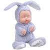Бибер (Бибер) Милая Большой зайчик спит кукла умиротворить куклы плюшевые игрушки куклы моделирования детские игрушки умиротворить светло-голубой джд джой joy обезьяны плюшевые игрушки куклы no