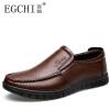 EGCHI мужские кожаные ботинки