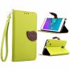 Зеленый дизайн Кожа PU откидная крышка бумажника карты держатель чехол для Samsung Galaxy Note Edge/N9150 противоударное стекло для samsung galaxy note edge n9150 с олеофобным покрытием green cases 0 33 мм