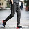 lucassa casual брюки мужчины случайные брюки гарем брюки спортивные брюки камуфляж случайные брюки мужской A100-k76 черный XL