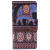 Коричневый слон Дизайн Кожа PU откидной крышки Кошелек Карты Держатель чехол для SONY X Performance