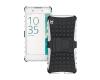 Корпус Sony Xperia E5 прочный защитный футляр Gangxun Dual Layer Прочный гибридный жесткий корпус с противоударной крышкой для Son sony xperia e5 f3311 white