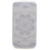 Полный цветок шаблон Мягкий чехол тонкий ТПУ резиновый силиконовый гель чехол для LG K4 prime book чехол для lg k4 white
