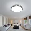 NVC Потолочный светильник светодиодный светильник спальня балкон балкон светлый творческий полый рисунок алюминиевая рама круглый монохроматический свет 18 Вт