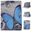 Blue Butterfly Style Classic Flip Cover с функцией подставки и слотом для кредитных карт для Apple iPad 6/iPad Air 2 2me style 2me style чехол для ipad 164050