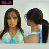 Full Lace wig straight Glueless Brazilian Virgin Human Hair with baby hair Black Women 8a glueless brazilian straight full lace