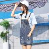 VIVAHEART корейская версия талии платье, чтобы сделать старые дыры ковбой ремень короткая юбка VWQZ172433 темно-синий M vinemo vorneoco корейская версия высокой талии слот пакет юбка джинсовая юбка юбка юбка r1540 серый xl