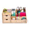 Longxing D9122 DIY ручных деревянных ящики ящик для хранения косметики / рабочего стола офиса хранение сиденья розового
