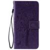 Purple Tree Design PU кожа флип крышку кошелек карты держатель чехол для LG K8 pink tree design pu кожа флип крышку кошелек карты держатель чехол для lg k3
