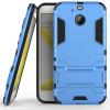 Синий Slim Robot Armor Kickstand Ударопрочный жесткий корпус из прочной резины для HTC Bolt синий slim robot armor kickstand ударопрочный жесткий корпус из прочной резины для vivo x9plus