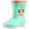 PaulFrank рот обезьяны детские ботинки дождя мужские и женские ботинки младенца ботинки способа PF1003 зеленые 26 ярдов