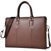 ПОЛО мужской первый слой кожи сумки 040973 кофе цвет деловых документов