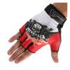 перчатки верхом Фигура Mountaintop MDT01 Mading половина скольжения пальцев движение устойчива езда красные перчатки L перчатки без пальцев шерстяные с рисунком розовые