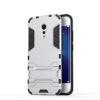 Серебряный Slim Robot Armor Kickstand Ударопрочный жесткий корпус из прочной резины для vivo Xplay6 синий slim robot armor kickstand ударопрочный жесткий корпус из прочной резины для vivo x9plus