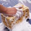 MyMei Уход за автомобилем Автомойка Губка для сотовых автомобилей Коралловый пористый инструмент для уборки дома гарнитура для сотовых