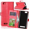 Red Style Classic Flip Cover с функцией подставки и слотом для кредитных карт для Lenovo Vibe C/A2020 смартфон lenovo vibe c a2020 a2020a40 white