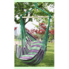 MyMei Canvas Hammock Hanging Rope Swing Chair Seat Hammock Bench Swinging Cushione garden swing for children baby inflatable hammock hanging swing chair kids indoor outdoor pod swing seat sets c036 free shipping