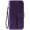 Purple Tree Design PU кожа флип крышку кошелек карты держатель чехол для SAMSUNG S6 purple tree design pu кожа флип крышку кошелек карты держатель чехол для samsung c5