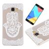 Палм-цветок Pattern Мягкий Тонкий TPU Резиновый Силиконовый гель Чехол для Samsung Galaxy A7 2016/A710 крышка задняя для samsung a7 2016 a710 силикон зелёный