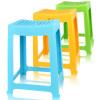 Камелия пластиковые стулья стул средней школы экстра-толстый полоса 35см квадратный стул 0848