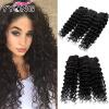 8A Brazillian Deep Wave Huamn Hair 3 шт. Продукты YYONG Hair Company Бразильские волосы для волос для волос Бесплатная доставка концентрат hair company deep restructuring step 2