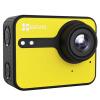 Флюорит (EZVIZ) S1C спортивная камера (желтый) двухрежимная спортивная камера интеллектуальная камера HD наружная воздушная камера для дайвинга с дистанционным управлением камера