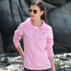 Pearson и (PELLIOT) наружная солнцезащитная одежда одежда легкая кожа ветровка мужчины и женщины быстросохнущая одежда 1222 женский чисто розовый M
