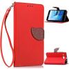 Красный Дизайн Кожа PU откидная крышка бумажника карты держатель чехол для ASUS ZenFone 2 Laser (ZE550KL) смартфон asus zenfone 2 laser ze550kl 32gb белый 90az00l2 m02720