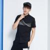Semir Semir с короткими рукавами рубашки с короткими рукавами рубашки печати лето мужская мода рубашка 13216041281 черный S