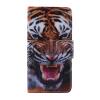 Тигр Дизайн Кожа PU откидной крышки Кошелек Карты Держатель чехол для LG V10 тигр дизайн кожа pu откидной крышки кошелек карты держатель чехол для lg nexus 5x