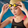 Солнцезащитные очки Speedo Солнцезащитные очки Anti-Fog HD Comfort Водонепроницаемые Большие рамки для плавания Плавающие очки 613091-17 Золото
