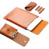 Водонепроницаемый гладкий кожаный MacBook, мягкая сумка для чехлов для MacBook Air и MacBook Pro цена и фото