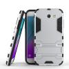 Серебряный Slim Robot Armor Kickstand Ударопрочный жесткий корпус из прочной резины для SAMSUNG GALAXY J3 Prime
