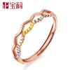 цены на Albemarle благословение 18K цветов золотое кольцо золотое кольцо / розовое золото кольцо Корона кольцо Nvjie DBWJZA4004 в интернет-магазинах