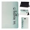 Butterfly Smile Style Classic Flip Cover с функцией подставки и слотом для кредитных карт для Samsung Galaxy Tab A 10.1 T580N