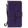 Purple Tree Design PU кожа флип крышку кошелек карты держатель чехол для SAMSUNG A5