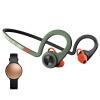 Plantronics BackBeat FIT беспроводного стерео музыка Bluetooth гарнитура спортивной яркий зеленый + несоответствие SHINE2 умный браслет из розового золота комбинированных пакетов