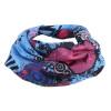 Длинная открытая сила сила (LOCAL LION) шарф шарф унисекс движение верхом волшебный шарф пыль солнцезащитный крем многоцелевого абсорбент, дышащий бесшовные синий шарф шарф