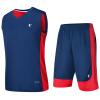 Иордания мужской баскетбольный костюм спортивный баскетбольный костюм XNT2372121 закат синий / Aurora красный 3XL