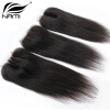 Top Quality Brazilian Virgin Human Straight Hair 4x4 Lace Closure 3 Way Part Bleached Knots Free Middle Three Part Free Shipping 8 20 unprocessed 7a brazilian virgin hair lace closure straight body wave 4 4 top closure middle part dhl free shipping