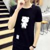 lucassa короткими рукавами футболки мужские шею футболки мультфильма печатных короткими рукавами футболки мужчин 19050 серый XXL lucassa короткими рукавами футболки