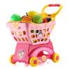 получает выгоду метров (Yimi) Chibi Maruko образовательные игрушки играть дома тележками фруктов и овощей детские игрушки розовый NO.506 радиоуправляемые игрушки